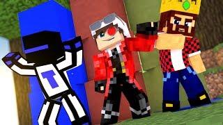 ЧЕЙ СТОЛБ ДЛИННЕЕ? БИТВА ДРУЗЕЙ ЮТУБЕРОВ! АИД ТЕРОСЕР И ДЕМ | Minecraft