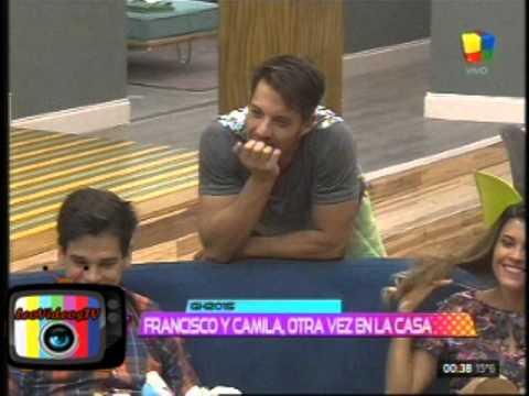 Francisco llevo regalos para sus enemigos GH 2015 #GH2015 #GranHermano