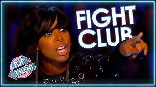 CONTESTANTS VS JUDGES | Auditions Get ANGRY on Idol and X Factor | Top Talent