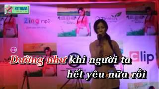 [Karaoke] Đứt Từng Đoạn Ruột - Lương Bích Hữu