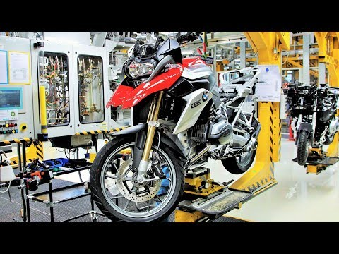 BMW Motorcycle Assembly Factory Tour