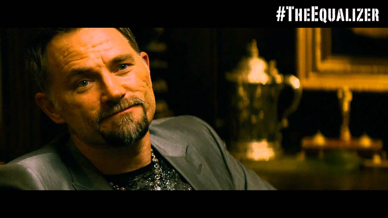 Video trailer för The Equalizer Movie - Extended International Clip