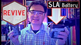 Do not throw away old Sealed Lead Acid Just Yet  - Revive SLA Lead Acid Battery for reuse