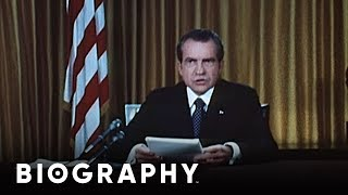 Richard Nixon - U.S. President | Mini Bio | BIO