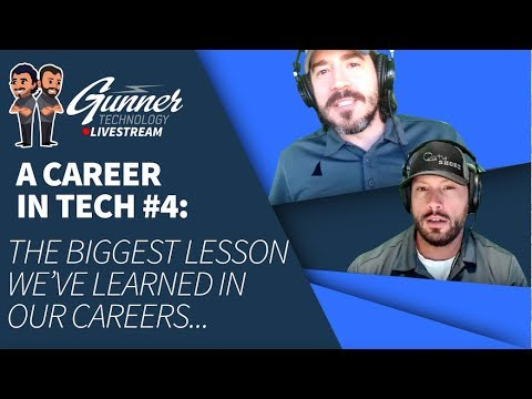 Episode 28: What's the biggest lesson you've learned in your career?