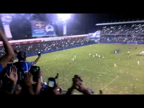 """Boca del Pozo 👊 Recibimiento 💙 Sale Emelec"" Barra: Boca del Pozo • Club: Emelec"