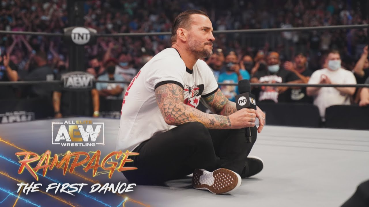 CM Punk Speaks For The First Time In AEW
