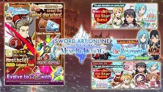 Sword Art Online Memory Defrag | Part 113 | All Stars Quest 16 & Revenant Ranking Event (No Hit)