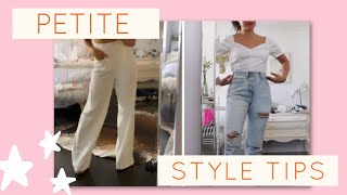 10 STYLING TIPS FOR PETITE GIRLS