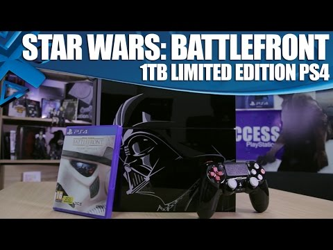 Star Wars: Battlefront - Limited Edition 1TB PS4 Unboxing