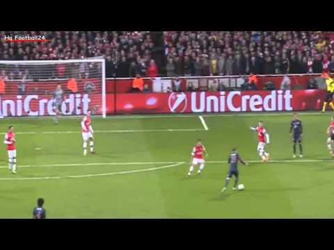 Toni Koros amazing Goal ~ Arsenal vs FC Bayern München 0-1 19/02/2014 HD
