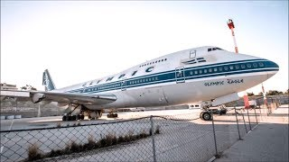 ABANDONED 747 AIRPLANES AND AIRPORT!!!