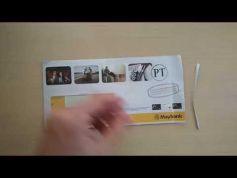 Unboxing Maybank JCB Kartu Kredit
