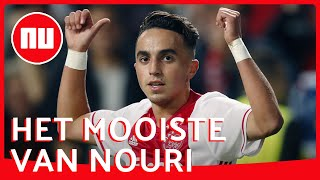 De Voetbalhoogtepunten Van Ajacied Nouri