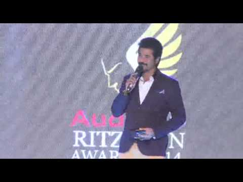 Sivakarthikeyan - AUDI RITZ ICON AWARDS (Chennai Edition) - 2014