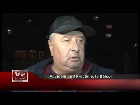 Accident cu 19 victime, la Baicoi