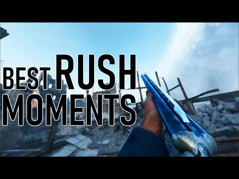 MOST EPIC RUSH MOMENTS! | Battlefield 5 Rush Game Mode Gameplay