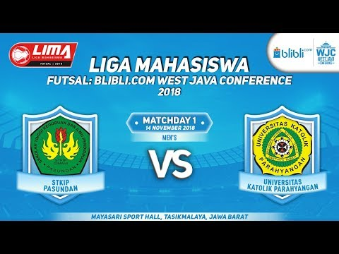 STKIP VS UNPAR  LIMA FUTSAL : BLIBLI.COM WEST JAVA CONFERENCE 2018