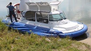 """Испытание судна на воздушной подушке """"Славир"""""""