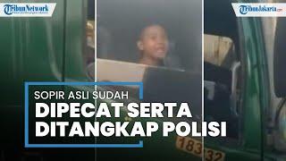 Sopir yang Minta Bocah 12 Tahun Menyetir Truk Tronton Dipecat Perusahaan lalu Ditangkap Polisi