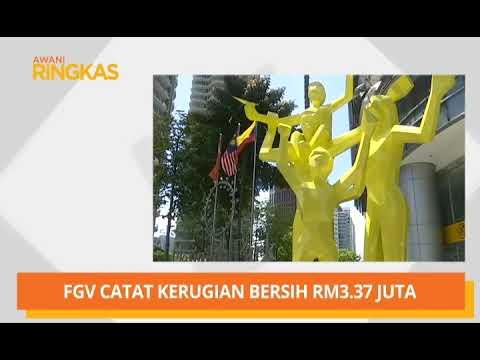 AWANI Ringkas: FGV catat kerugian bersih RM3.37 juta