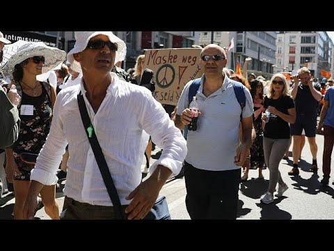 Corona-Protestdemos: Wo die Freiheit endet