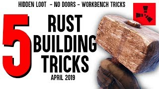 Rust Base Building Tips and Tricks (Use In Any Rust Base and Rust bunker base)
