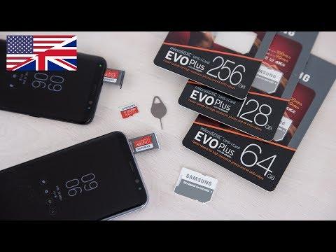 Samsung EVO Plus 2017 MicroSD for Galaxy S8 review 4k