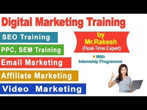 Advanced Digital Marketing Training institute in Madhapur  Hyderabad