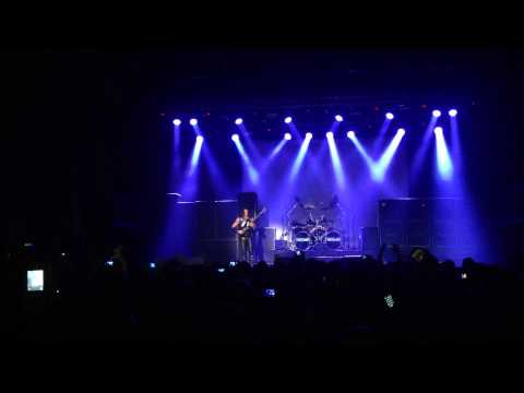 Joey DeMaio Bass Solo - Manowar - Israel - 2014