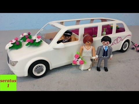 Playmobil Hochzeitslimousine 9227 auspacken unboxing seratus1