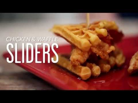 How to Make Chicken & Waffle Sliders