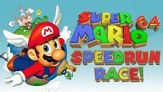 RACE AGAINST TIME - Super Mario 64 Gameplay