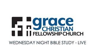 Wednesday Night Bible Study (01/27/2021) - Live