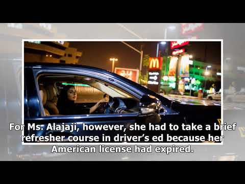✫A Moment to Savor: A Saudi Woman Rejoices as Driving Ban Ends