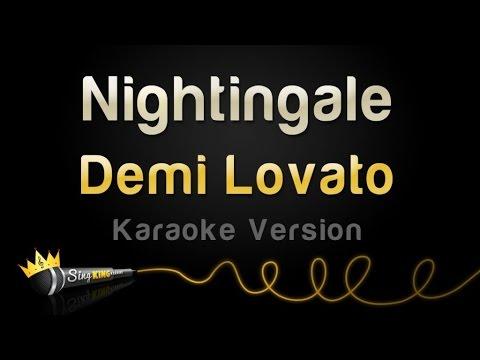 Demi Lovato - Nightingale (Karaoke Version)