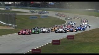 The HONDA Indy 200 At Mid-Ohio Race Highlights