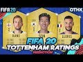 FIFA 20 | Tottenham Hotspur (Spurs) Player Ratings Prediction W/ Son, Lloris, Kane @Onnethox