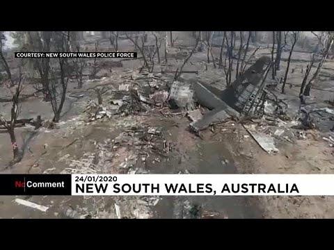 Αυστραλία: Συντριβή πυροσβεστικού αεροσκάφους