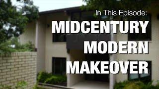 Midcentury Modern Makeover