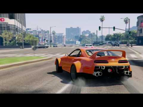GTA 5 Drift Progression, Real Car Mods