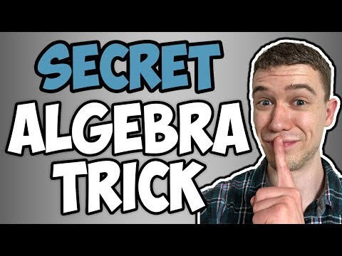 Algebra Trick to save you time (Algebra Tricks)