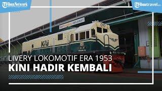 Kereta Jadul Indonesia Era 1953-1991, Livery Lokomotif Kini Hadir Kembali, Berikut Penampakannya