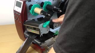 Pro Ribbon Printer - Loading the Foil