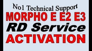 how to restart morpho rd service - मुफ्त ऑनलाइन