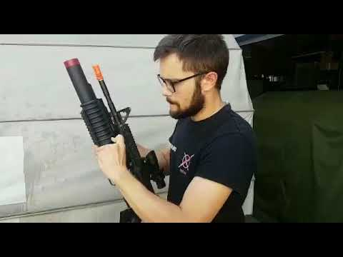 Il fire test delle granate 40 Mike Airsoft Innovation