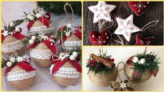 100 DIY Christmas Tree Ornaments Ideas,Homemade Christmas Ornaments,Easy Handmade Ornaments 2020