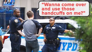 Breaking Dumb Laws In Front Of The NYPD