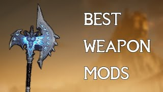 Skyrim - Top 20 Best Weapon Mods of All times