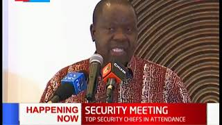 CS Matiang\'i graces annual security conference bringing together security multi-agencies in Mombasa